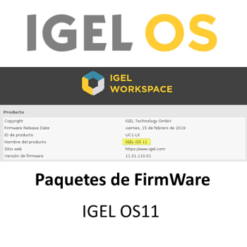IGEL Paquetes FirmWare OS11